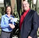 Senior care home receives big check