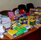 Credit union holds backpack drive