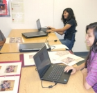 Prep students work on archives for Madison