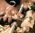 Free wood-turning demonstration day