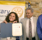 Interact Club receives honor from Rotary