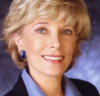 Lesley Stahl featured at lunch