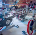 Indoor cycling event aids cancer research