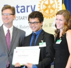 Local youth lauded by city
