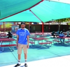 Student turns 'wish' into shaded hangout