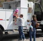 'Touch a Truck' benefits camp