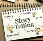 Story telling can spark memories