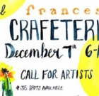 Call for artists for annual Crafeteria