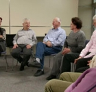 Discussion series for caregivers