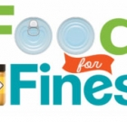 Pay library fines with food donation