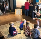 Story time, crafts at coffee shop
