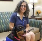 Resilience, love turn stray into therapy pet