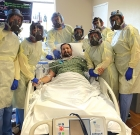 Local man survives virus after novel therapy